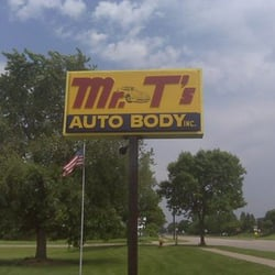 mr t s auto body collision center oficinas 4128 85th ave n brooklyn park mn estados. Black Bedroom Furniture Sets. Home Design Ideas