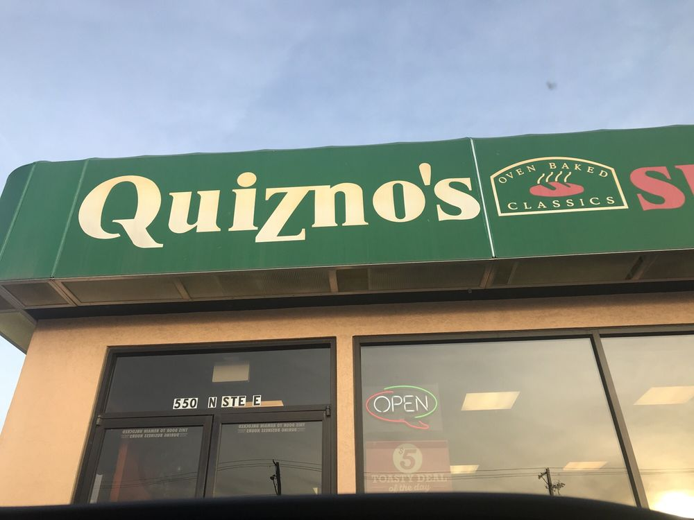 Quiznos: 550 N Webb Rd, Wichita, KS
