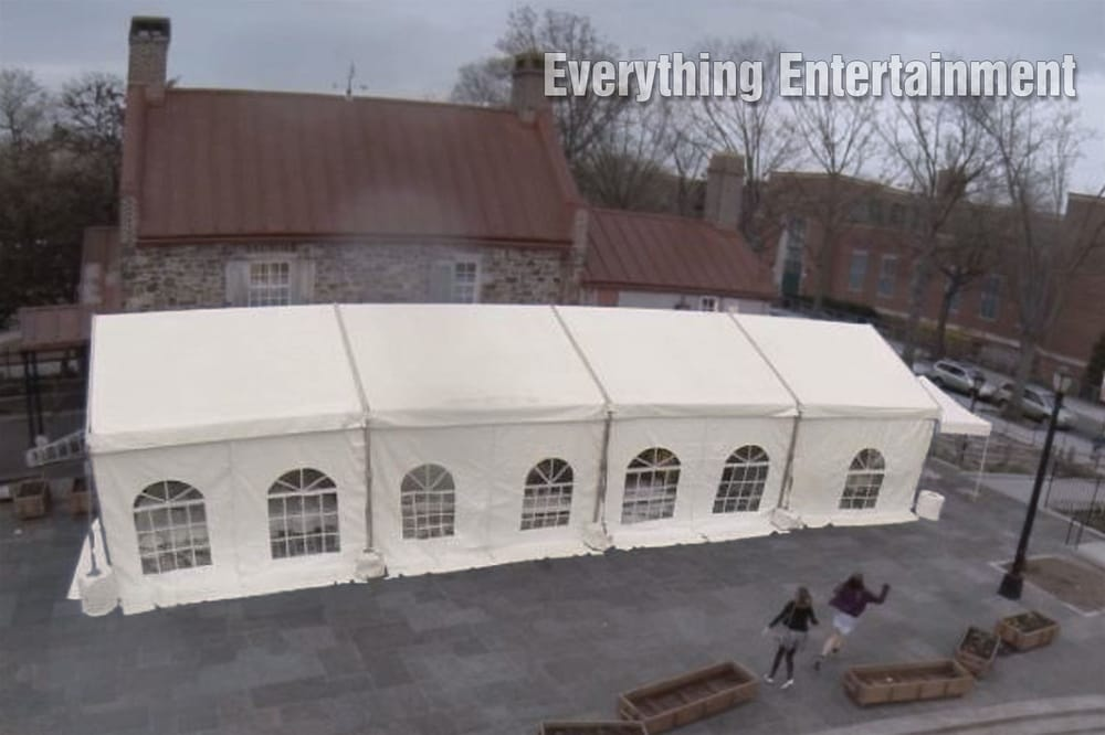 20x60\' Frame Tent for Bar Mitzvah at the Old Stone House in Brooklyn ...
