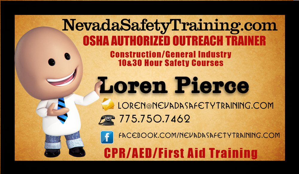 Nevada Safety Training Cpr Classes 300 Cinch Rd Reno Nv