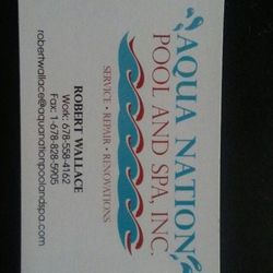 Photo Of Aqua Nation Pool And Spa Flowery Branch Ga United States My Business Card