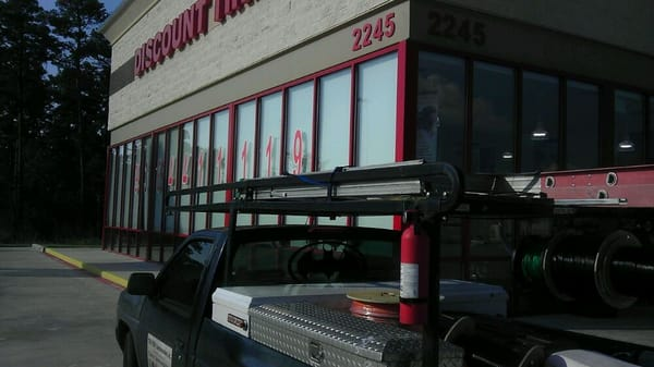 Discount Tire 2245 Stoneside Rd Conroe Tx Tire Dealers Mapquest