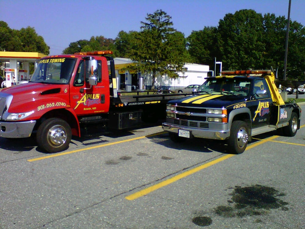 A-Plus Towing: 4014 Wharton Turn, Bowie, MD
