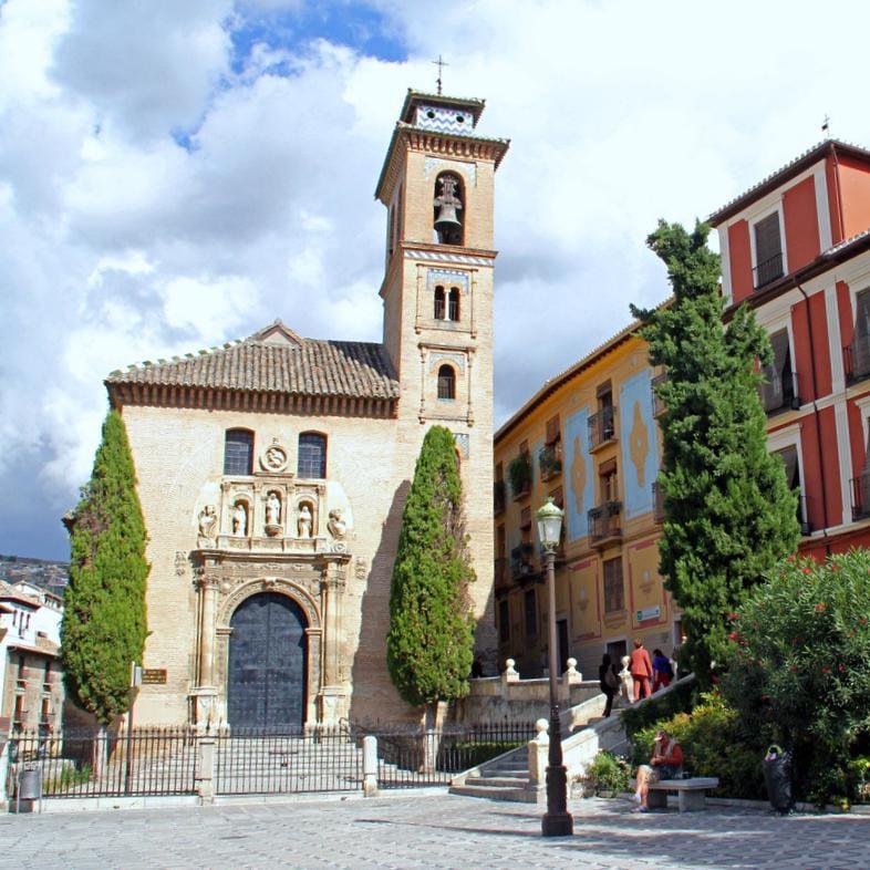 Iglesia de santa ana churches calle sta ana 1 - Santa ana granada ...