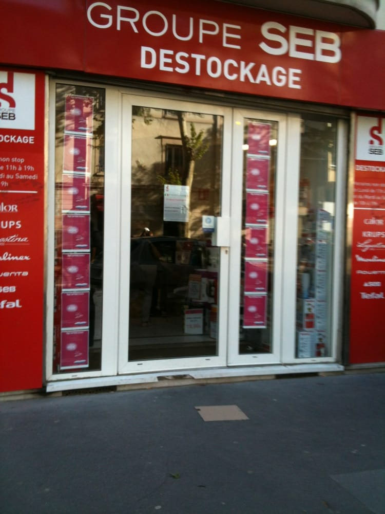 Destockage groupe seb magasin discount 104 cours albert thomas monplaisi - Magasin ethnique lyon ...