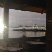 Photo of Arnies Restaurant - Edmonds, WA, United States. View of the ferry