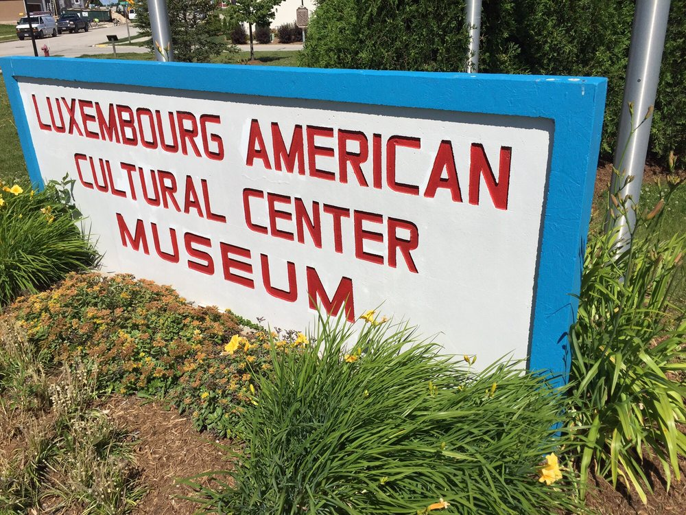 Luxembourg Cultural Society: 100 Grand Ave, Belgium, WI