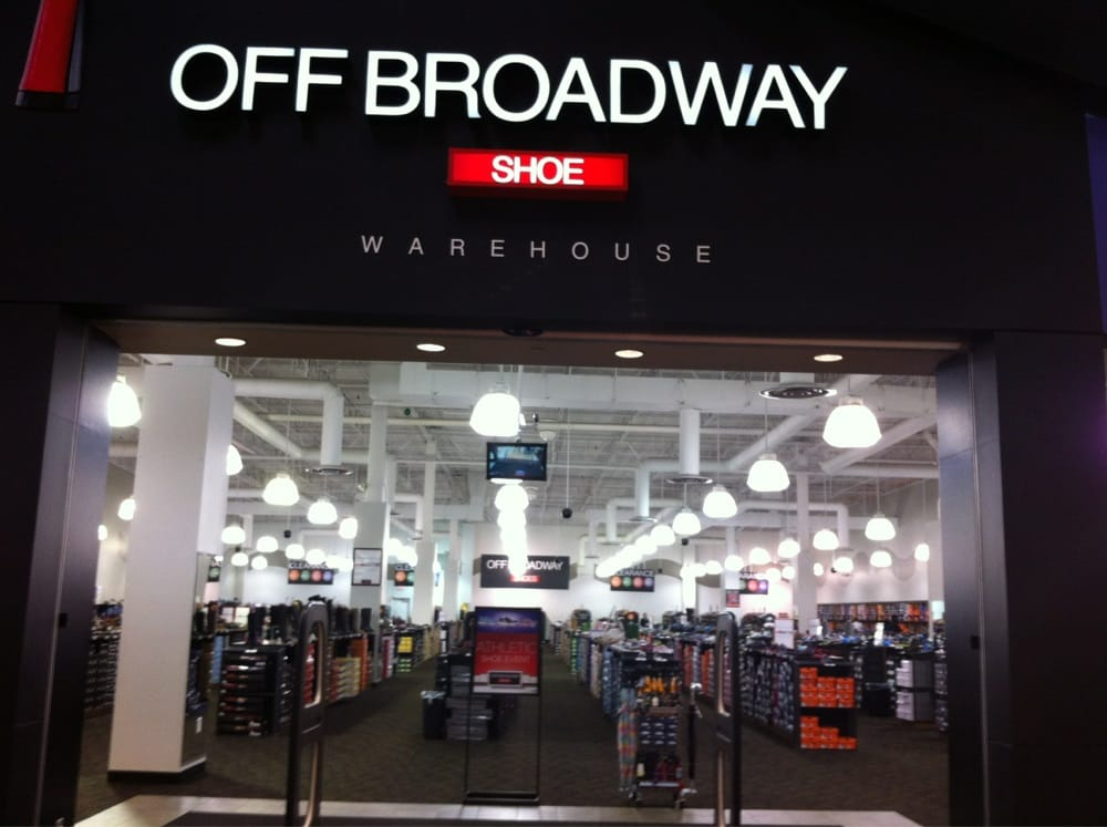 Off Broadway Shoe Warehouse Olathe, KS +1 location Off Broadway is currently seeking professionals with store manager retail experience for an opportunity at Off Broadway Shoes in Olathe, KS.