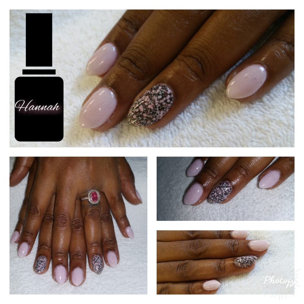 New mini stiletto nails! SNS Nails #4 and #56 By Hannah \