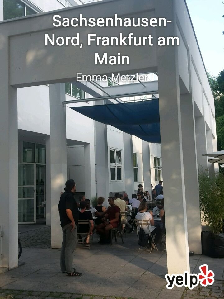 emma metzler restaurants schaumainkai 17 sachsenhausen nord frankfurt am main hessen. Black Bedroom Furniture Sets. Home Design Ideas