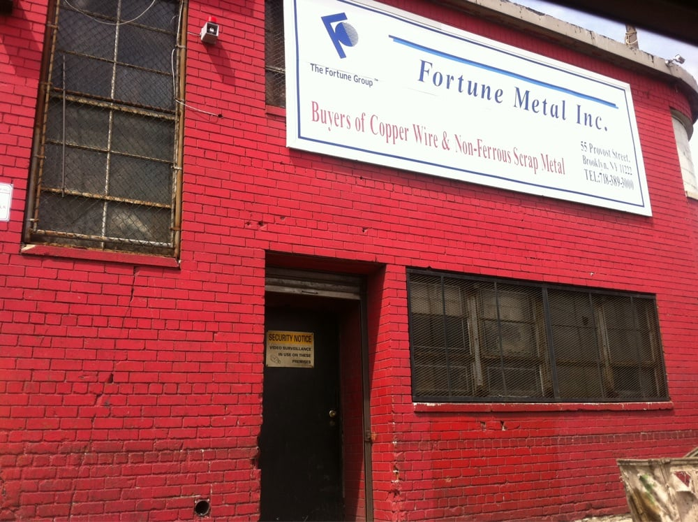 Fortune Metal: 239 India St, Brooklyn, NY