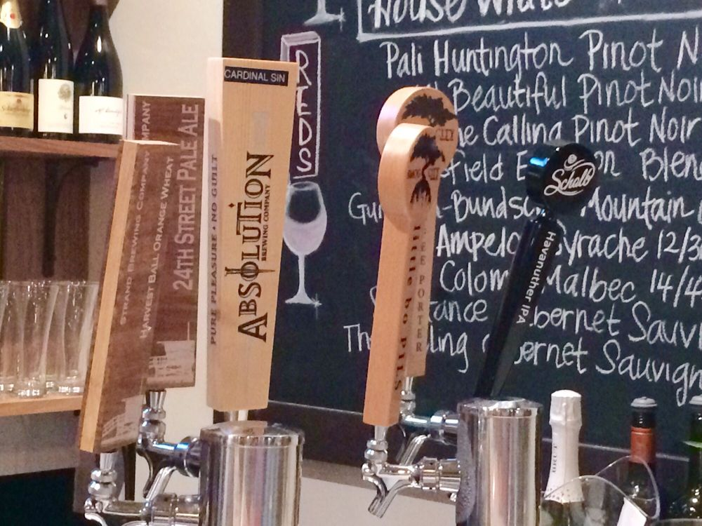 Only Torrance Beer In Tap...cool!
