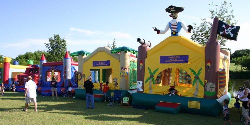 Firehouse Bounce: 159 Riding Club Rd, Rockwall, TX