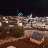 photo of koziars christmas village bernville pa united states outdoor train display