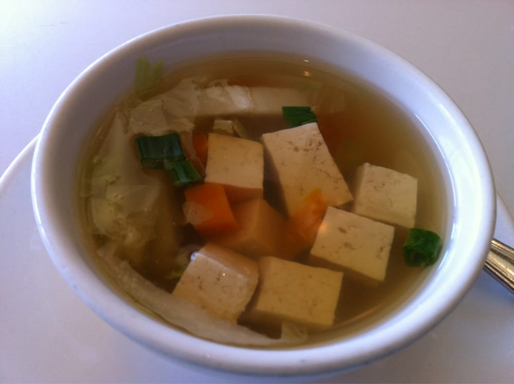 Lunch special soup yelp for Amarin thai cuisine