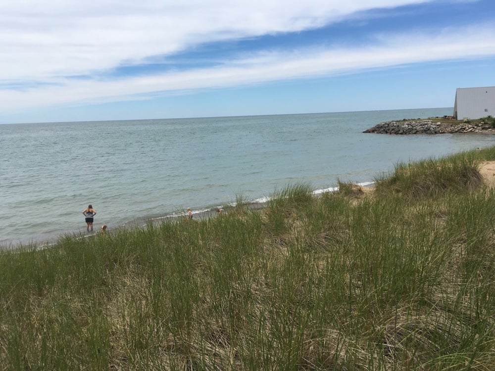 Lincoln Township beach: 5450 Notre Dame Ave, Stevensville, MI
