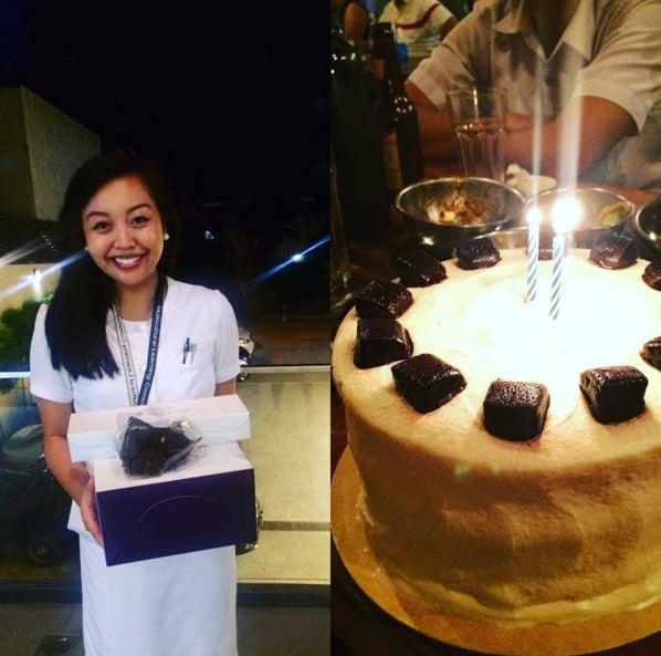Purple Carousel chocolate cake Yelp