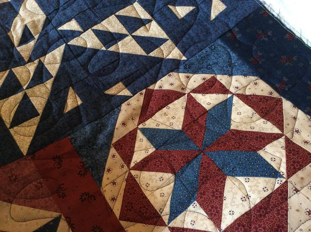 Star Spangled Liberty Quilt Available As A Kit And