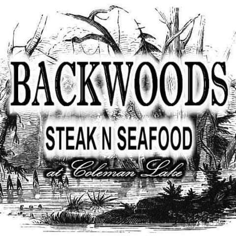 Backwoods Steak N Seafood at Coleman Lake: 823 Stevens Crossing Rd, Midville, GA