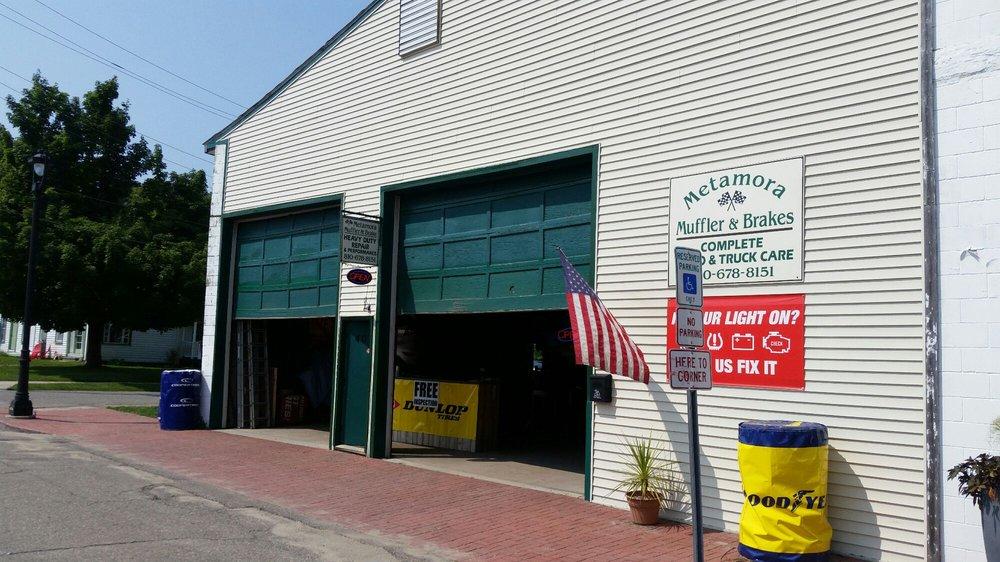 Metamora Muffler & Brakes: 4003 S Oak St, Metamora, MI