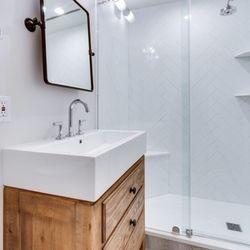 photo of bath plus kitchen design remodel arlington va united states