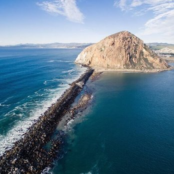 Photo Of Morro Rock Bay Ca United States From
