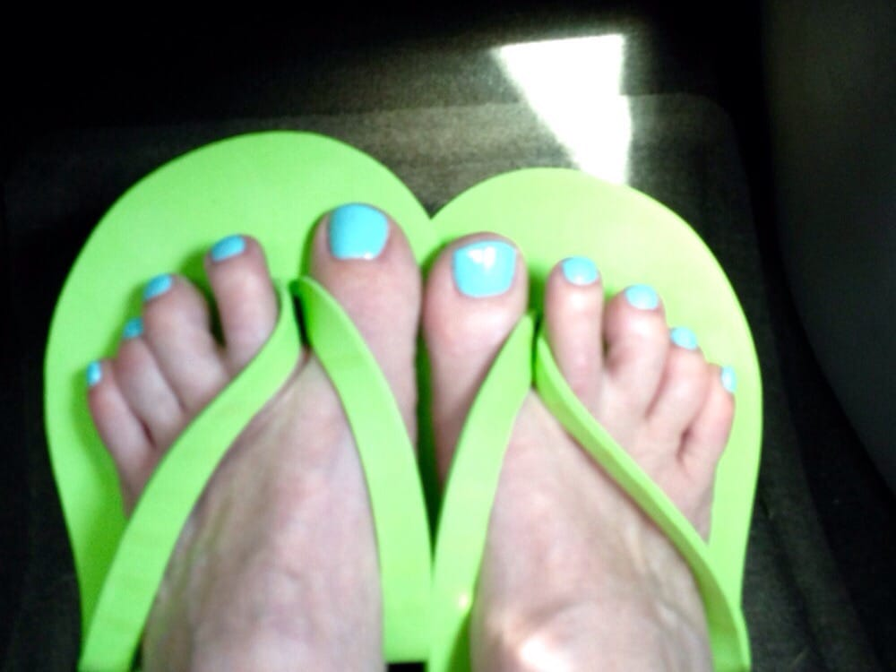 My blue toes love it yelp for 13 salon bellingham