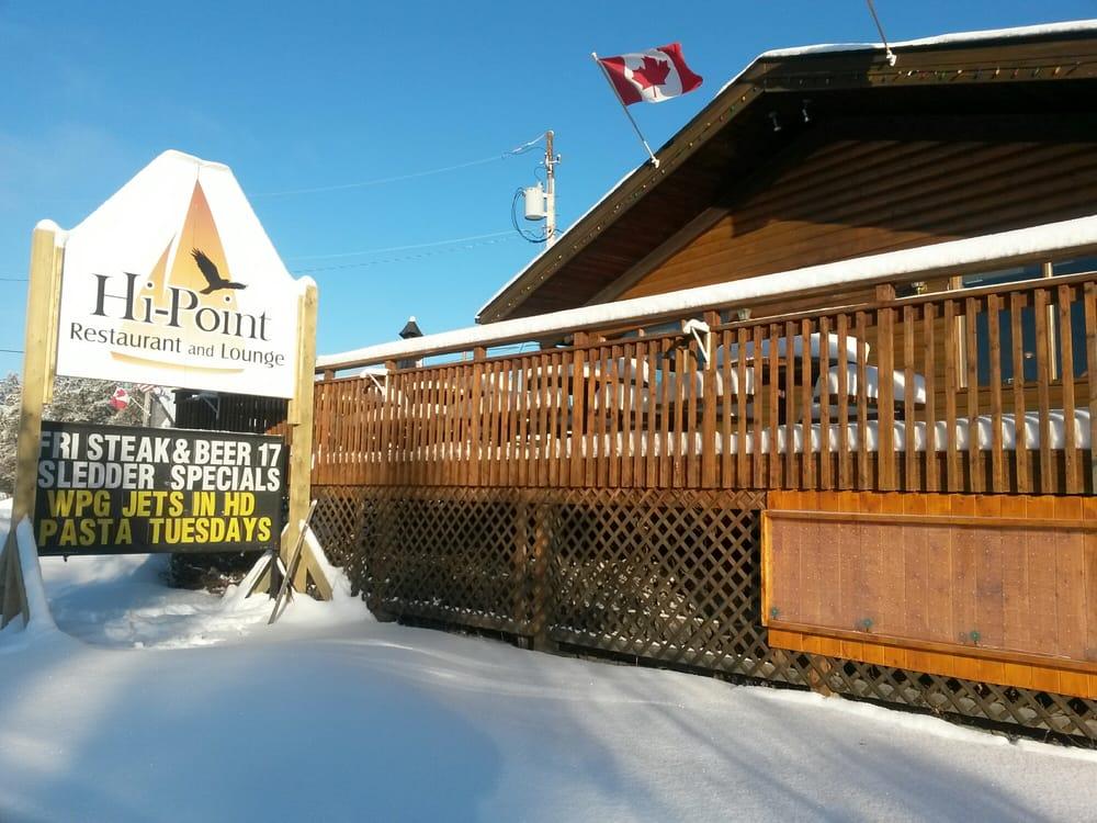 Hi-Point Restaurant and Lounge: Highway 44 W Hawk Lake, Whiteshell, MB