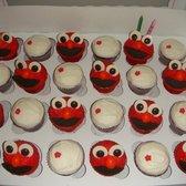 ... Animated Cupcakes - Garden Grove, CA, United States. Red Velvet & Elmo