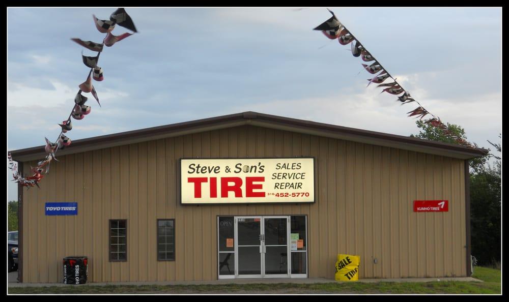 Steve & Son's Tire: 2510 W Central Ave, El Dorado, KS