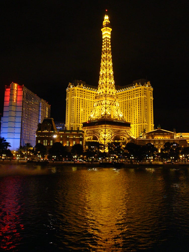 View Of The Paris Eiffel Tower From The Bellagio Yelp