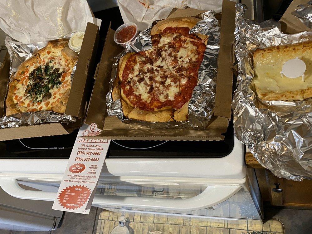 Joey G's Pizzeria: 501 W Main St, Kirkland, IL