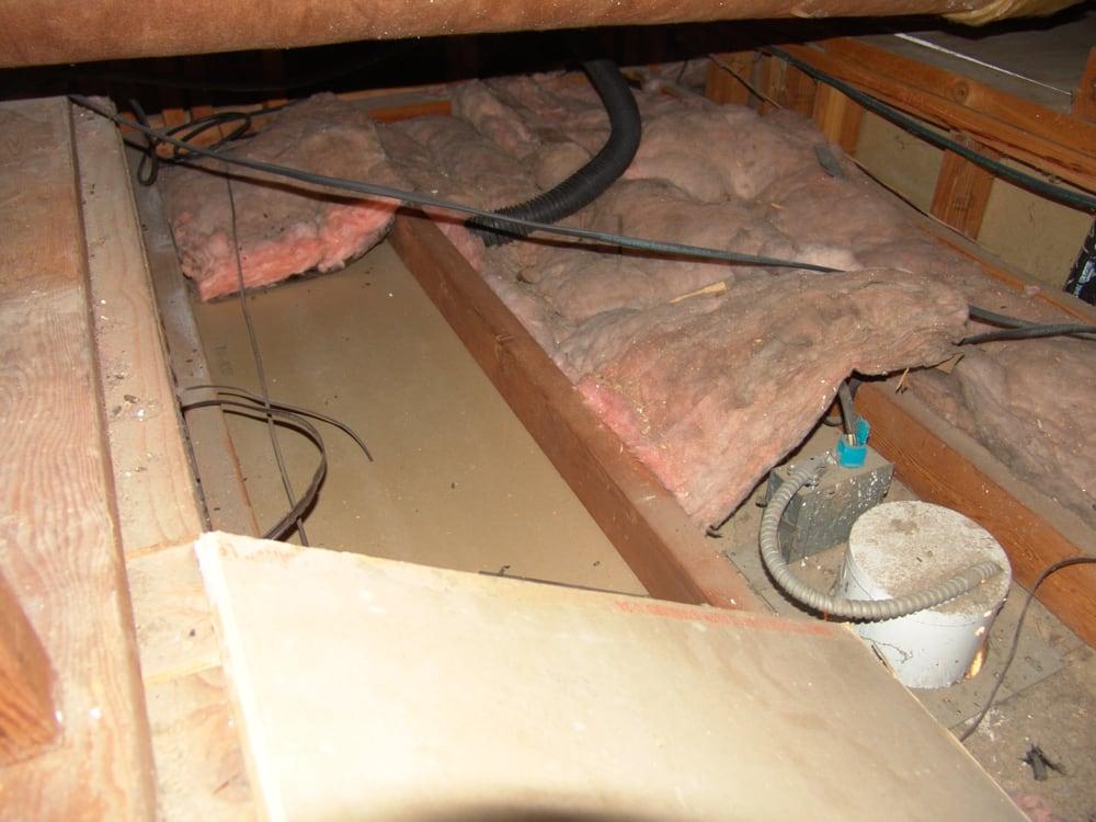 Batt Insulation Removal Job 1 During Insulation Removal