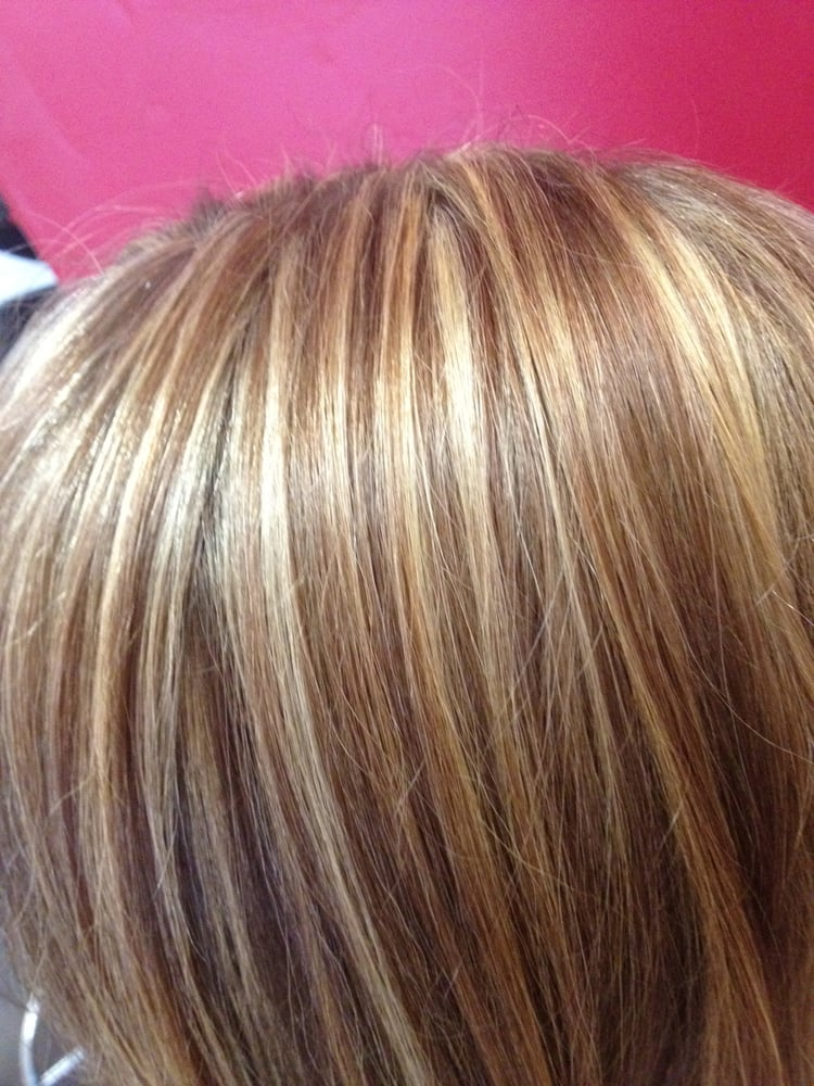 ... photo of elizabeth s salon davis ca united states low lights and high ... & Brown Hair With High And Low Lights - Brown Hairs azcodes.com