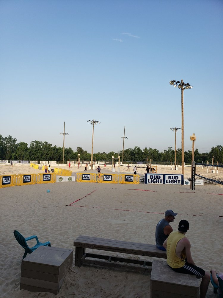 Coconut Beach Volleyball Complex: 100 Coconut Beach Ct, Kenner, LA