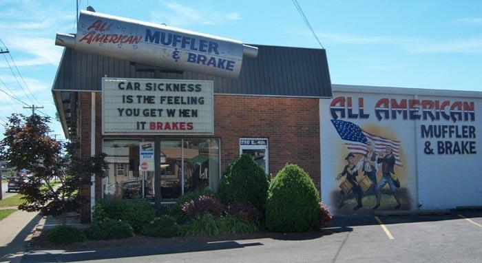 All American Muffler & Brake: 710 E 4th St, Owensboro, KY