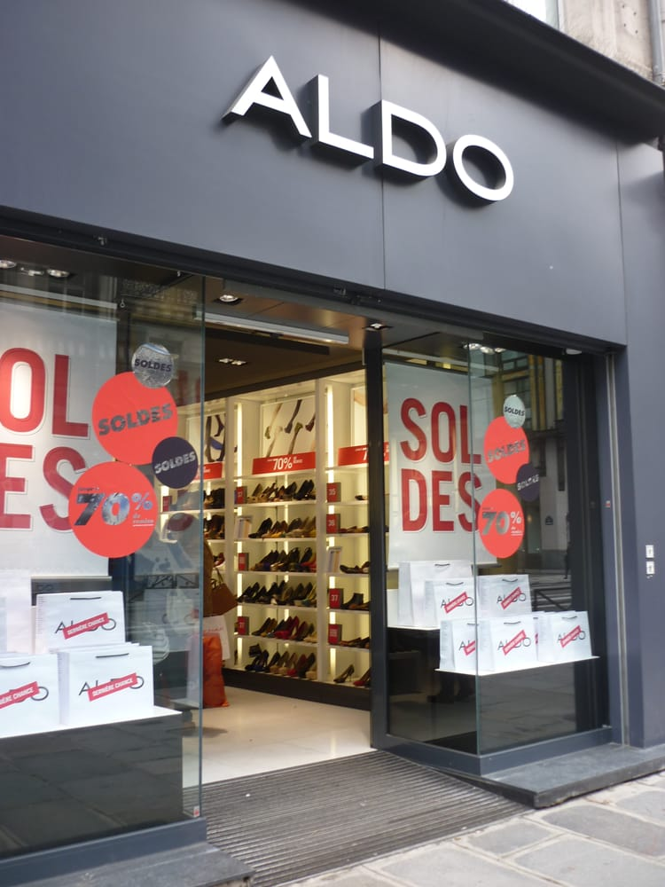 aldo magasins de chaussures 140 rue rivoli ch telet. Black Bedroom Furniture Sets. Home Design Ideas