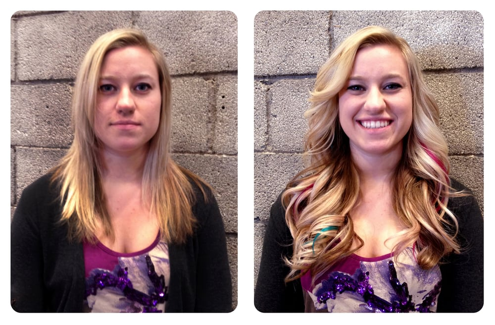 Combination Of Warm Fusion And Micro Bead Strand By Strand Hair