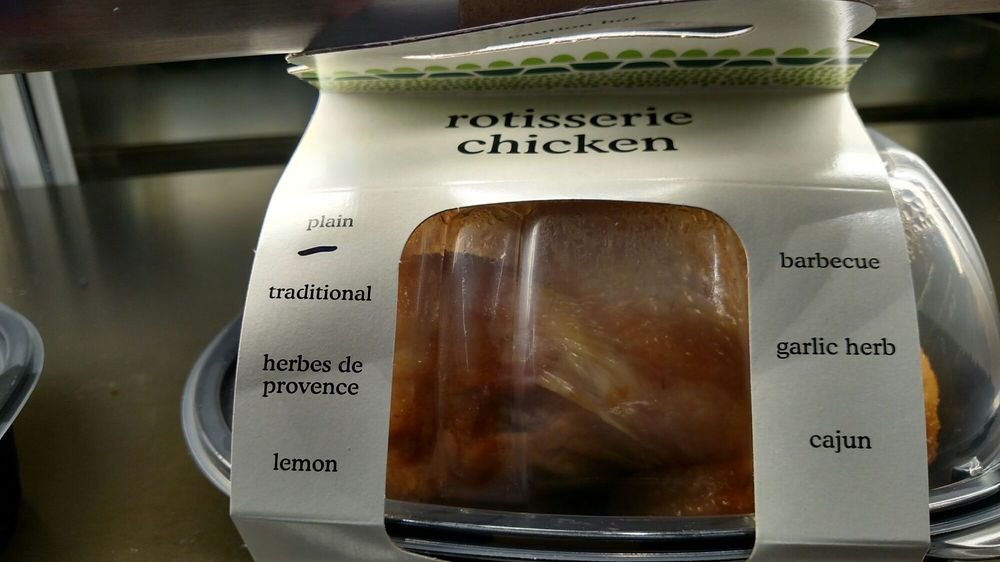 Plain Rotisserie Chicken Thats A Hater Move If I Have Ever