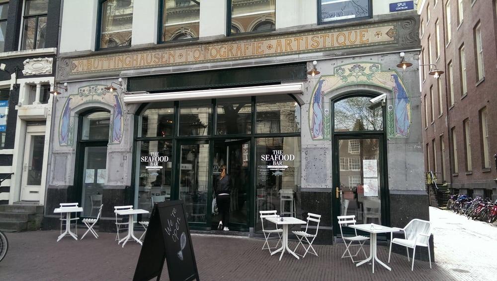 Seafood bar amsterdam spui for Seafood bar spui 15