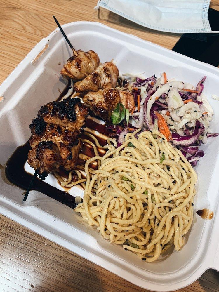 Food from Van Aken Market Hall