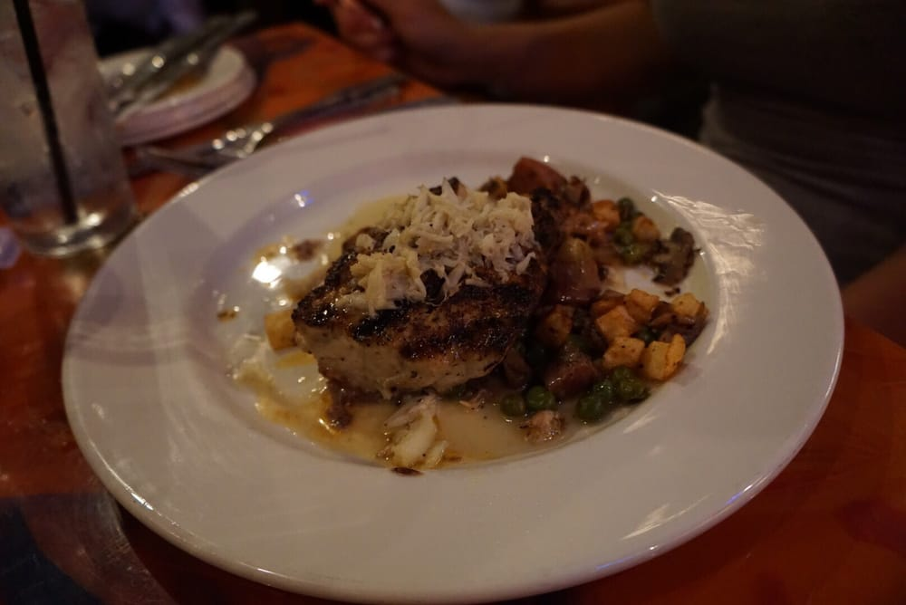 This is a signature dish had to ask for mushrooms yelp for Red fish grill new orleans