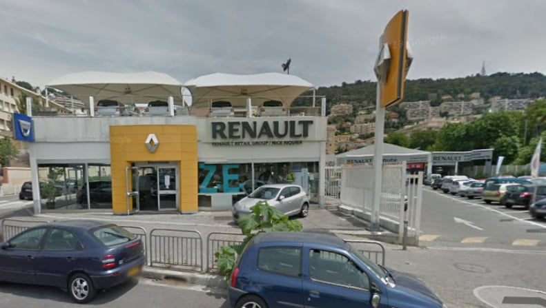 renault retail group nice riquier concessionnaires automobiles 2 bd arm e des alpes nice. Black Bedroom Furniture Sets. Home Design Ideas