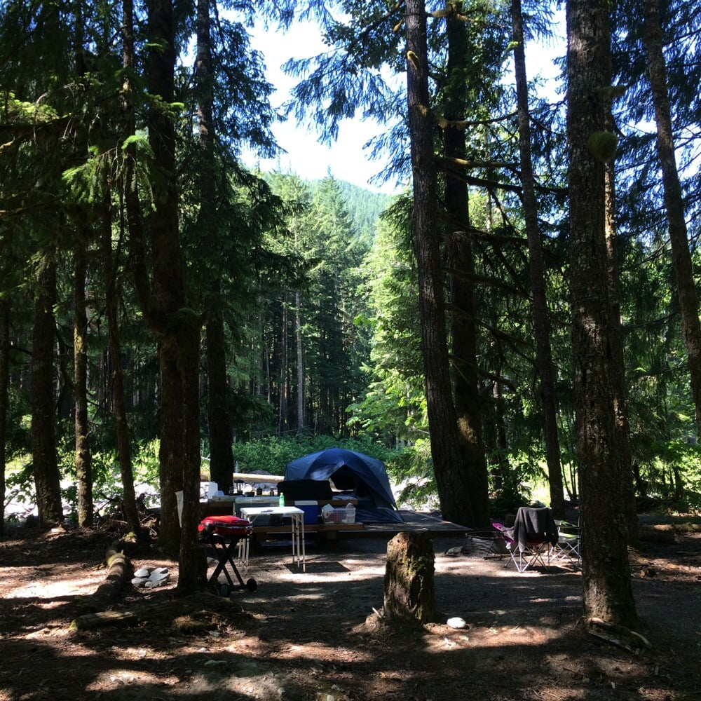 Troublesome Creek Campground: 2930 Wetmore Ave, Everett, WA