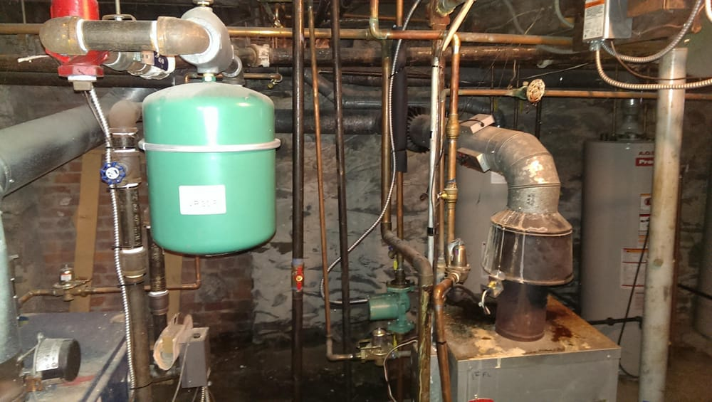 This was two gas boilers for a large bed and breakfast that also had ...