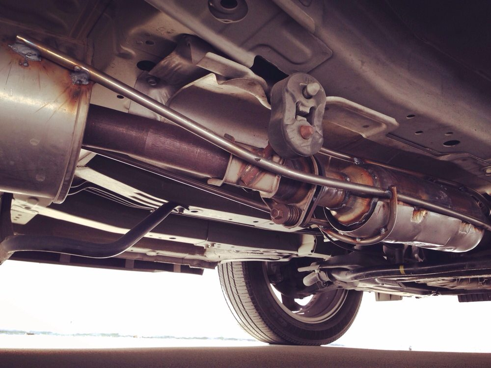 Photo Of 3c Performance Exhaust Los Angeles Ca United States Custom: 2004 Honda Element Catalytic Converter At Woreks.co
