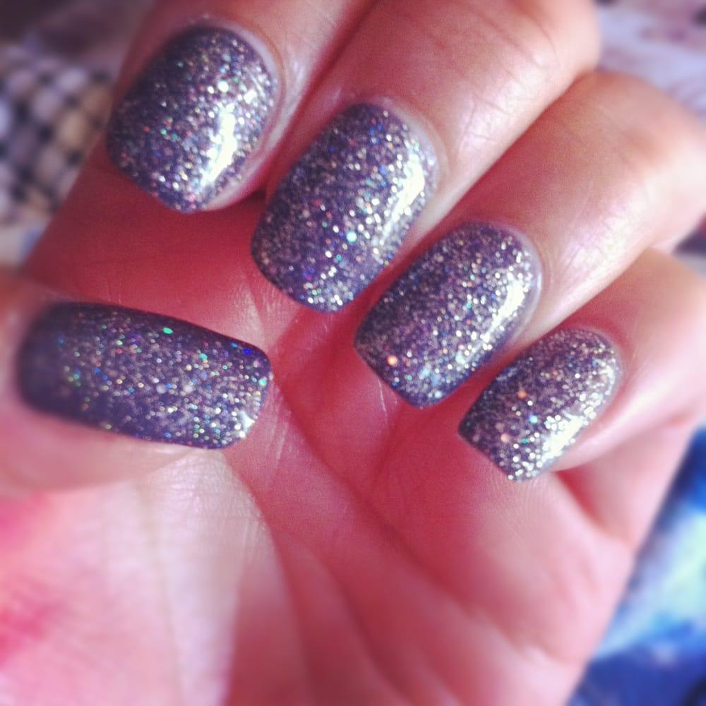 Gel glitter shellac :) - Yelp