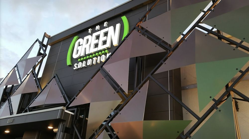 The Green Solution Recreational Marijuana Dispensary: 1207 Southgate Pl, Pueblo, CO