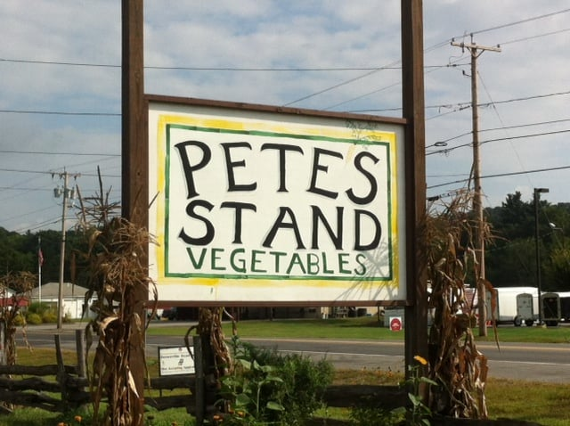 Pete's Stand: Rt 12, North Walpole, NH