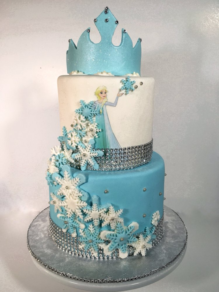 Disneys Frozen First Birthday Cake Visit Facebookcom